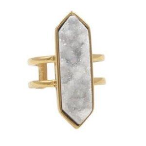 NEW! Kinsley Armelle Magna Quartz Ring